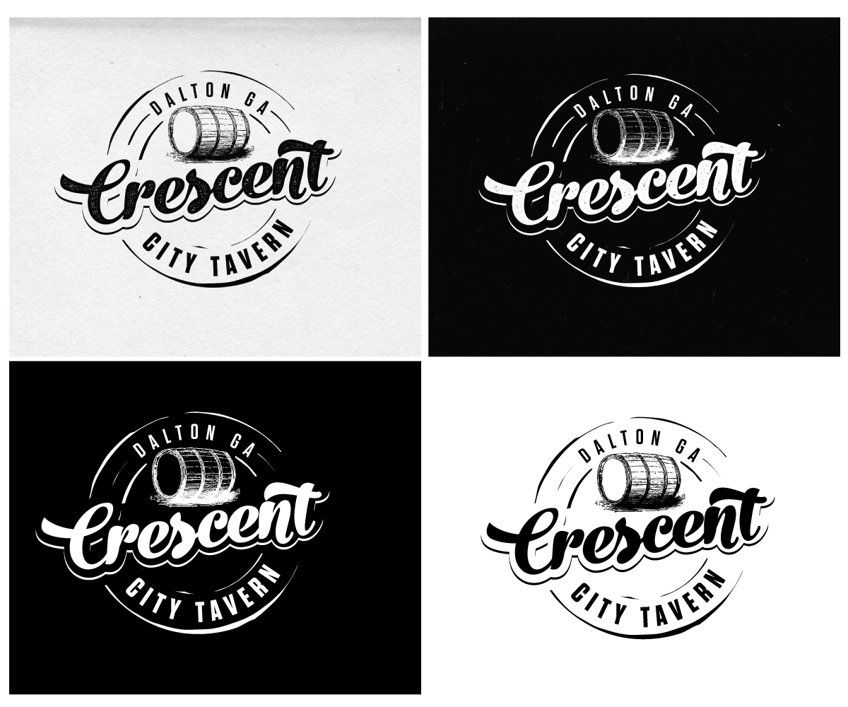 Bold, Playful, Sports Bar Logo Design for CRESCENT CITY.