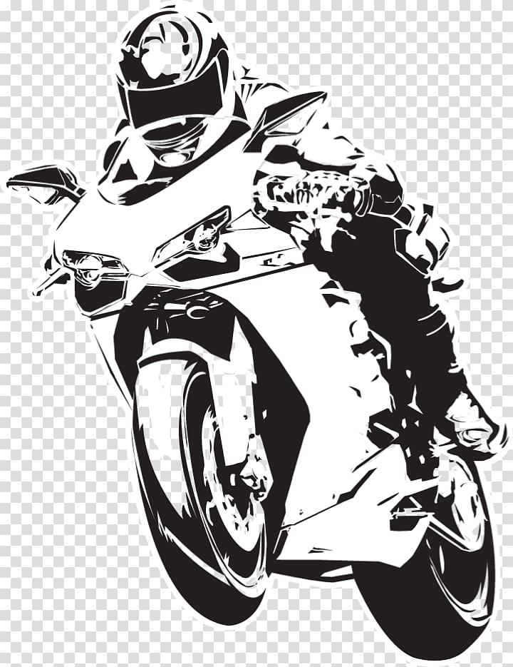 Person riding motorcycle , Motorcycle helmet Honda Sport.