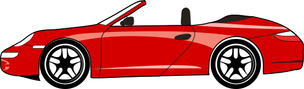 Sports car clip art.