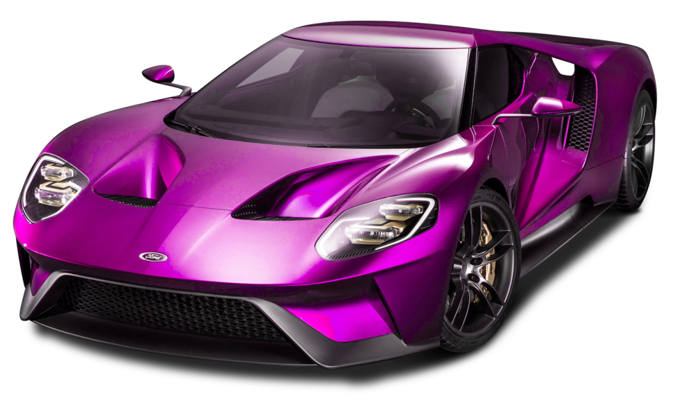 Pink Sports Car (PNG).