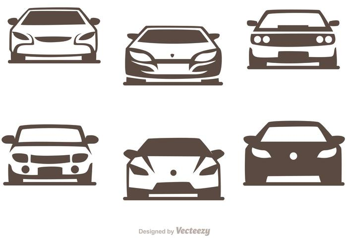 Cars Silhouette Vector Pack of Sports Cars.