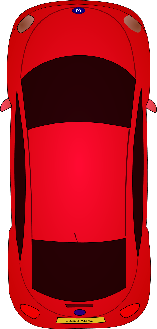 Sports Car Clipart Top View.