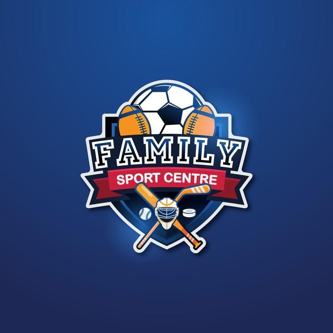 Sport Center Logo design.