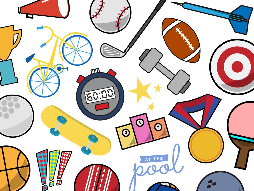 Sports club clipart - Clipground