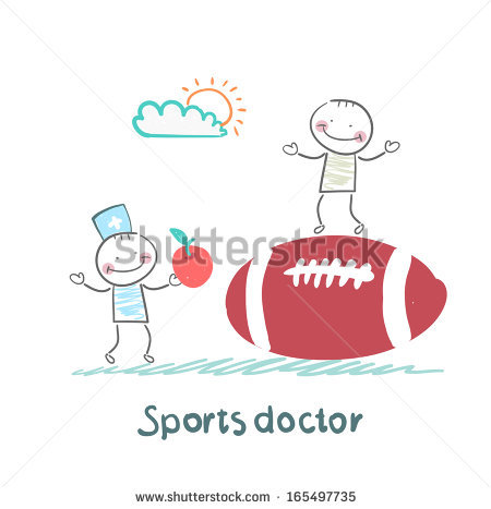 Sports Medicine Specialist Stock Photos, Royalty.