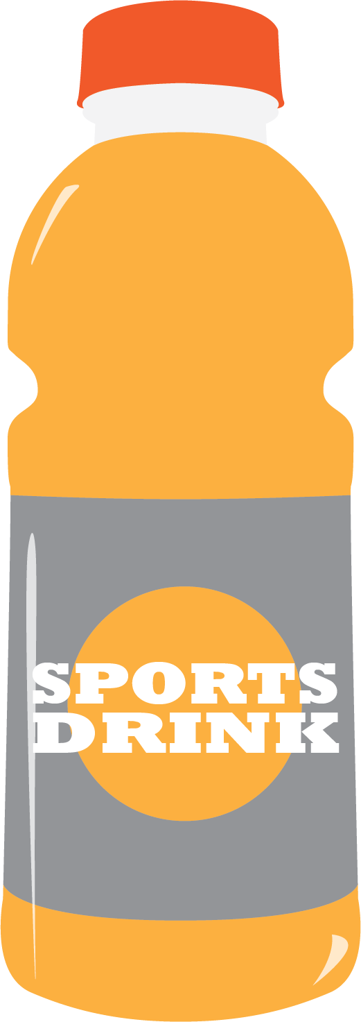 Drinks clipart sports drink, Drinks sports drink Transparent.