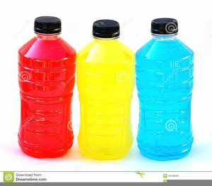 Sports Drink Clipart.
