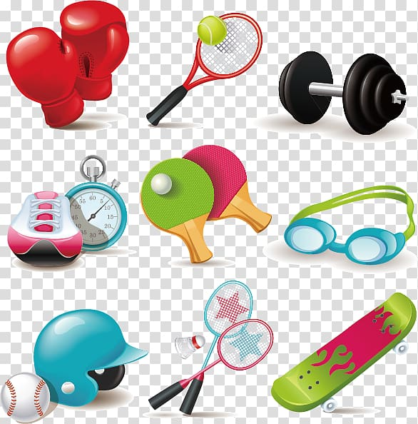 Sports equipment Net Icon, Sports equipment cartoon icon.