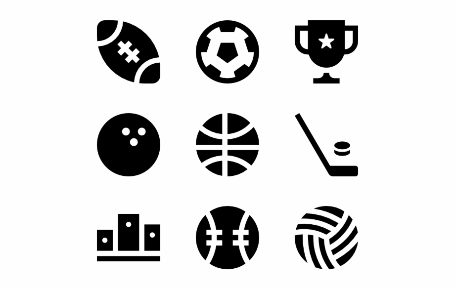 Sports Skills Icons For Resume.