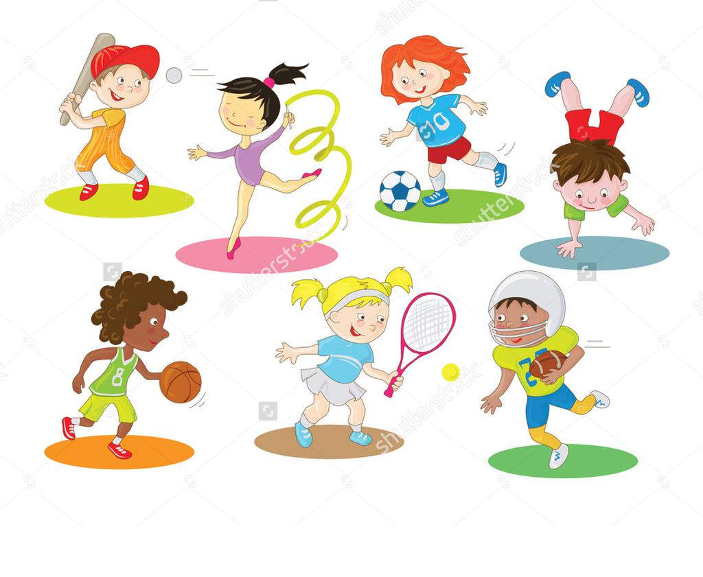Kids Sports Clipart Outdoor Coon.