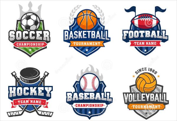 8+ Vintage Sports Logos.