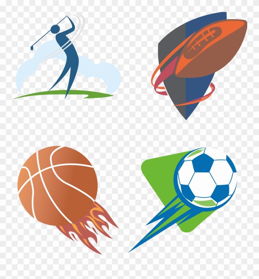 Sport Clip Art Logo Vector Transprent Png.