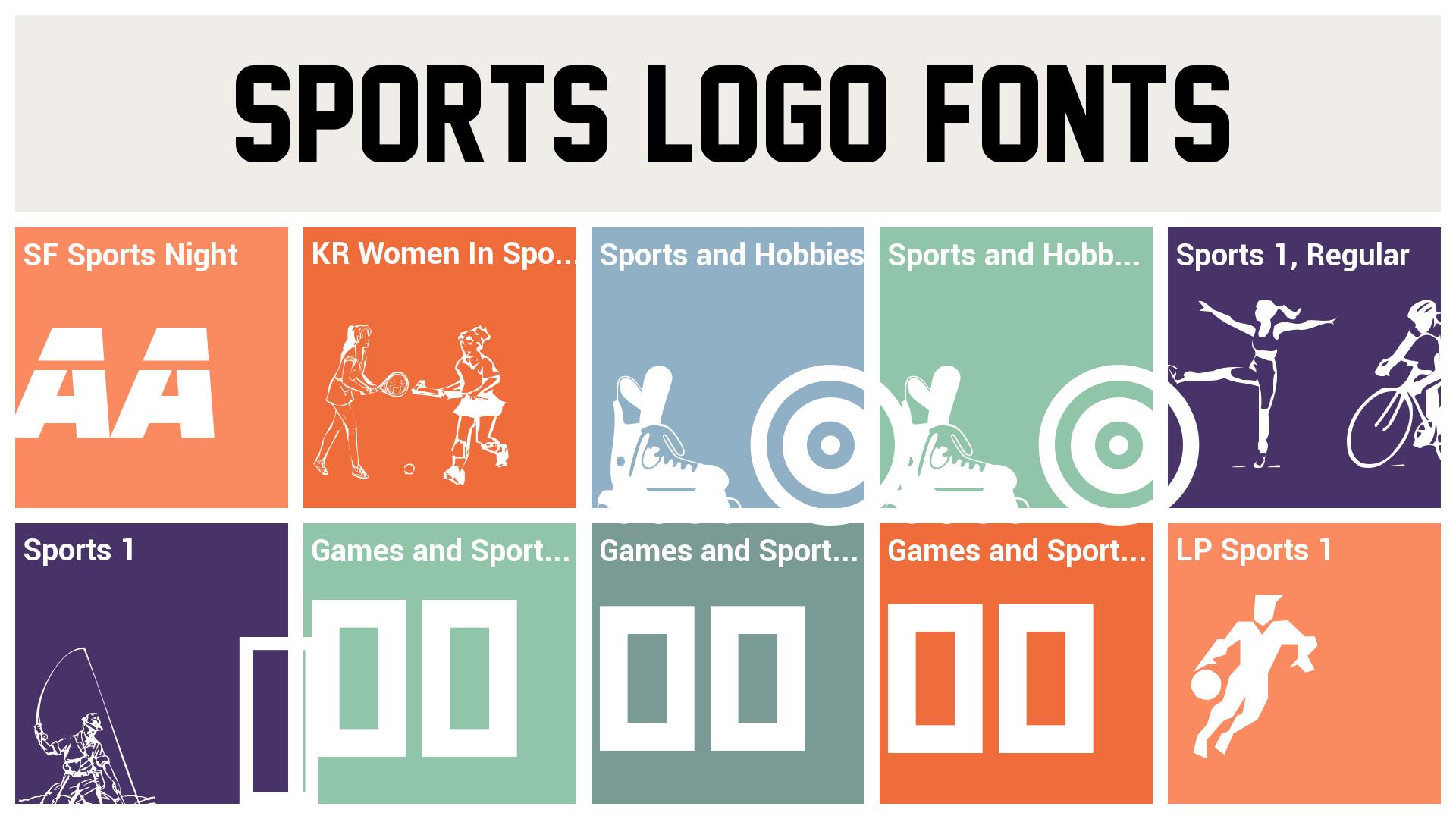 sports logo fonts.