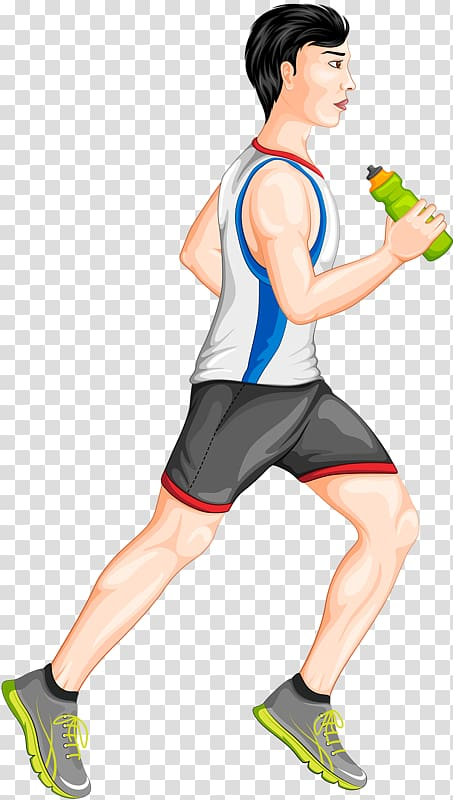 Sport Illustration, Sports man transparent background PNG.