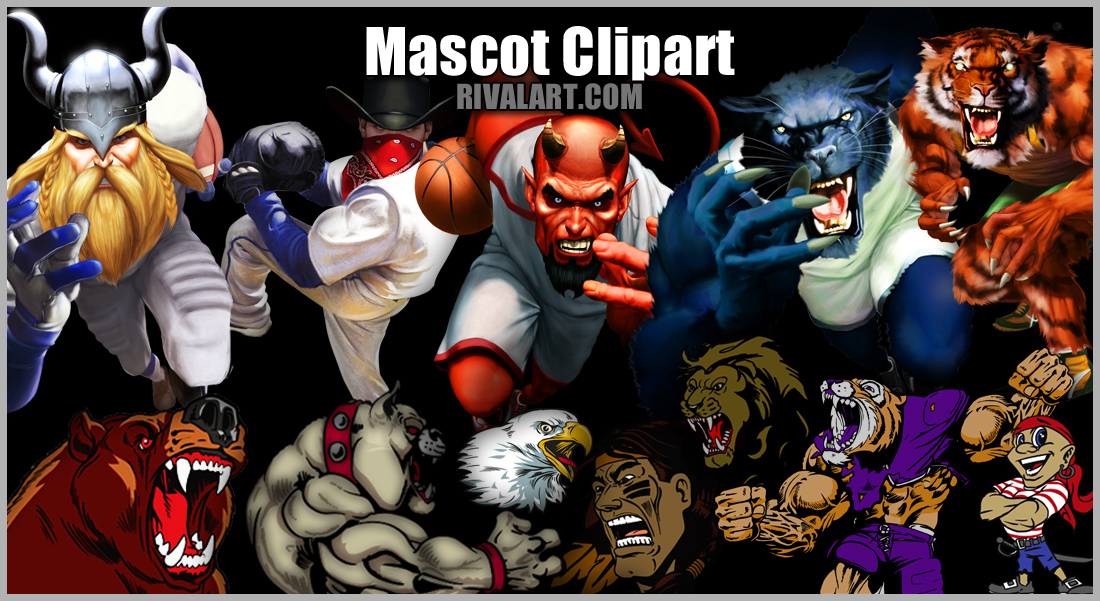 Mascot Clipart on Rivalart.com.