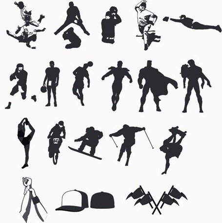 Sports & Recreation free clip art.