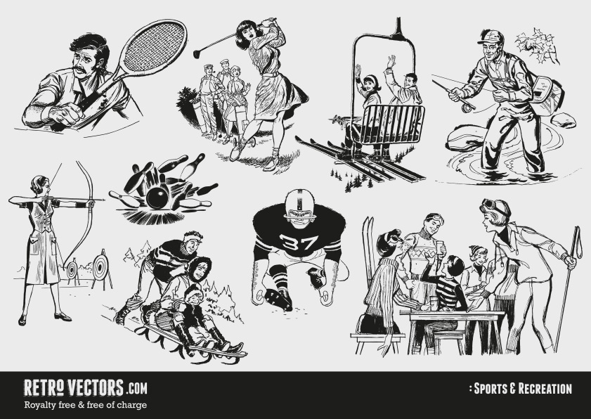 60s Sports and Recreation.