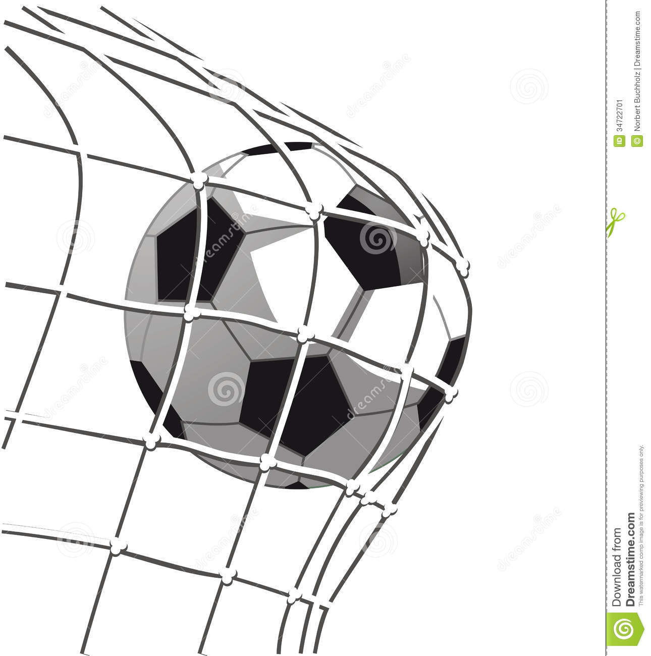 Soccer Ball And Goal Clipart.
