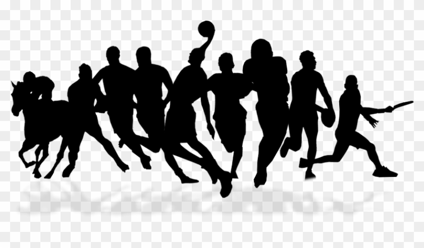 Team Sport Silhouette Png, Transparent Png.