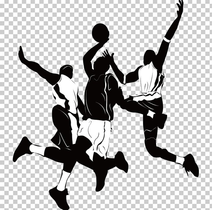Basketball Player Athlete Sport Silhouette PNG, Clipart.
