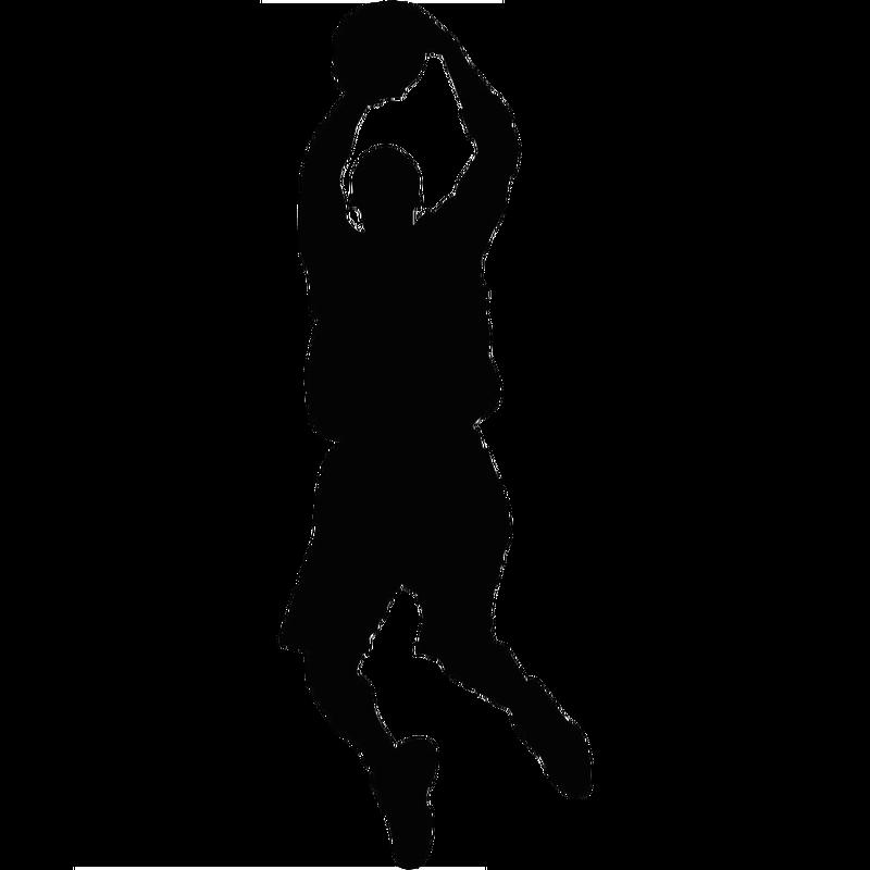 Basketball Sport Silhouette Clip art.
