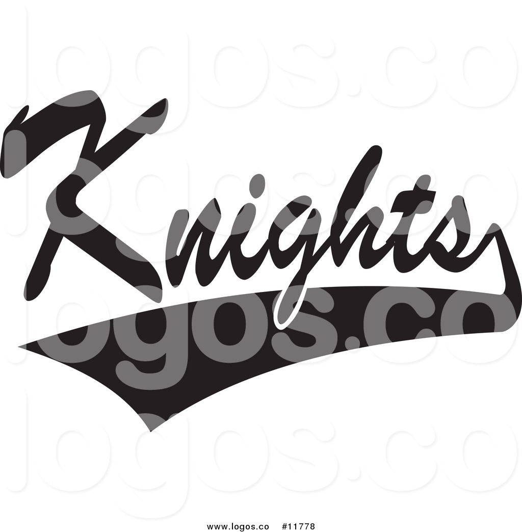 Royalty Free Clip Art Vector Logo of Black and White.