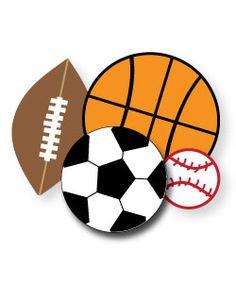 Sports Theme Clipart #1.