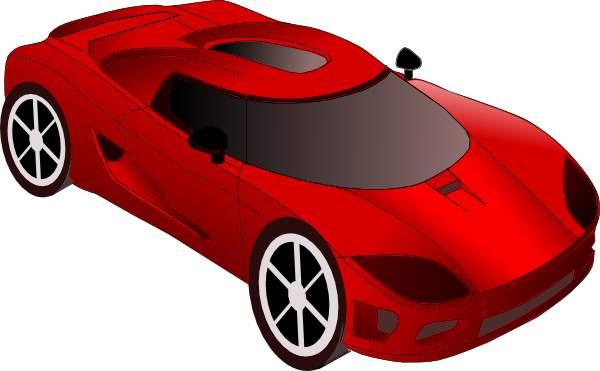 Clipart sports car.