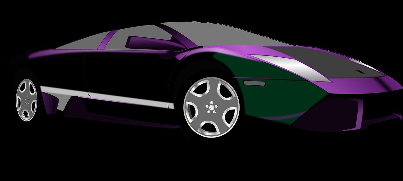 Free to Use & Public Domain Sports Car Clip Art.