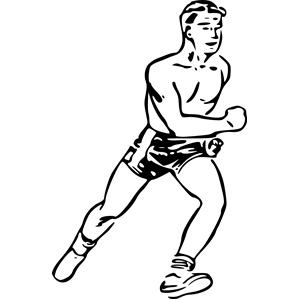 runner clipart, cliparts of runner free download (wmf, eps, emf.