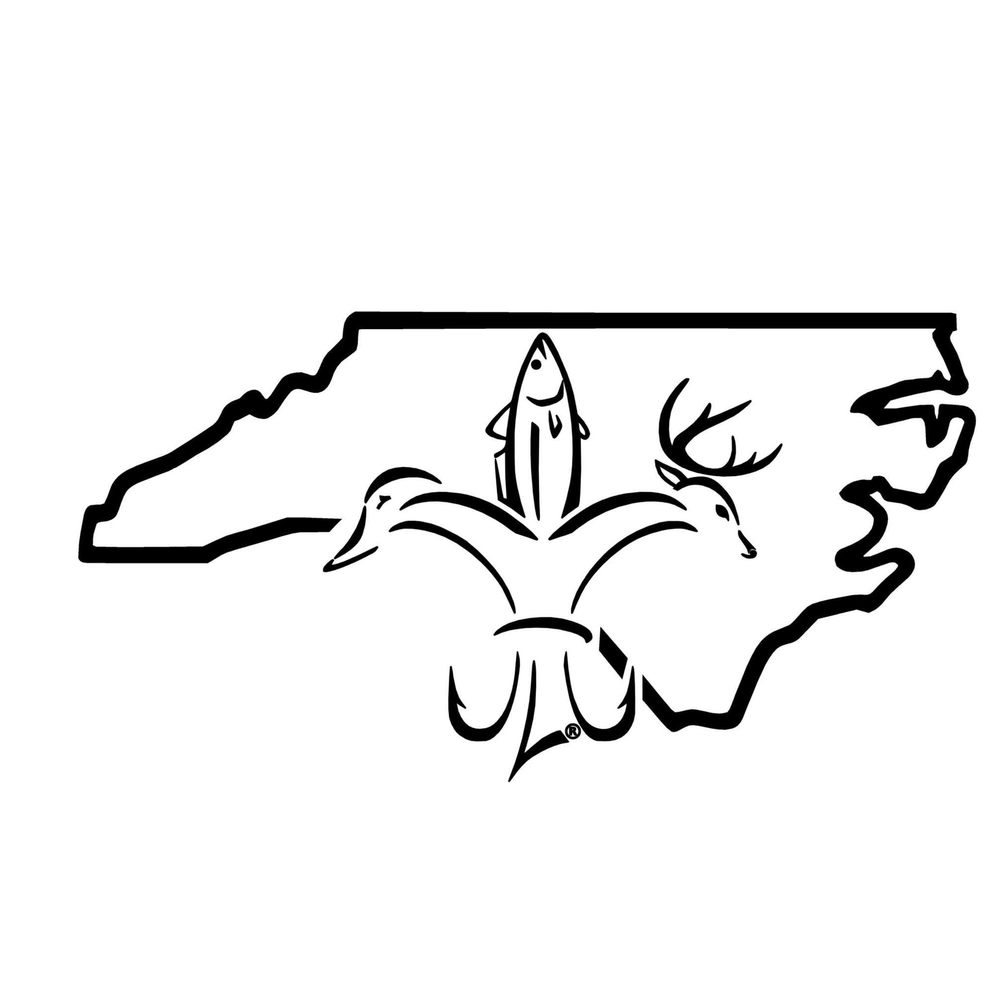North Carolina Sportsman Decal.
