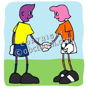 Sportsmanship Clipart.