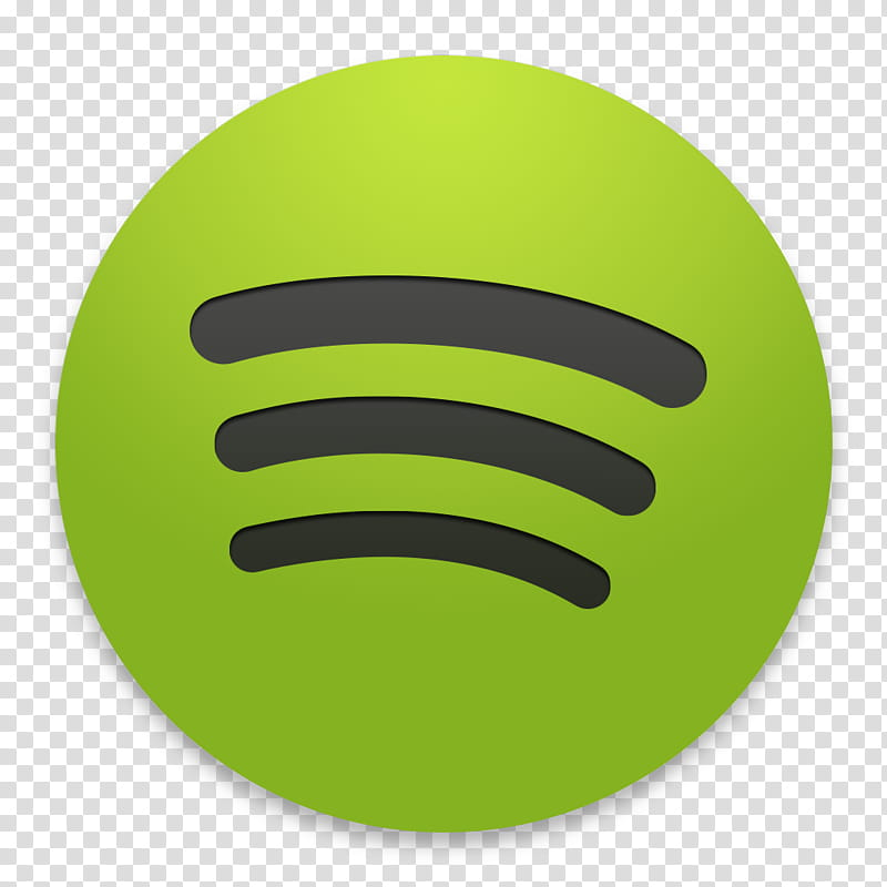 OS X Yosemite Spotify, Spotify logo transparent background.