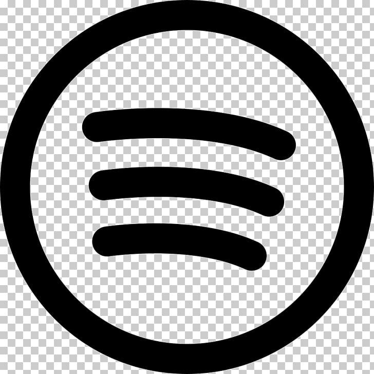 Graphics Spotify Logo , black and white spotify logo PNG.