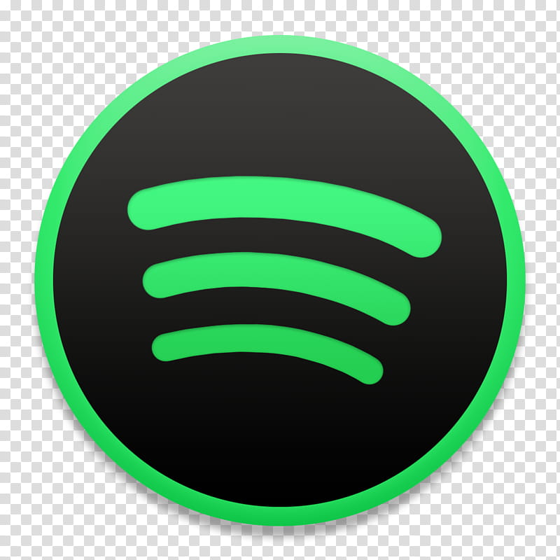 Spotify macOS Style, Spotify logo transparent background PNG.