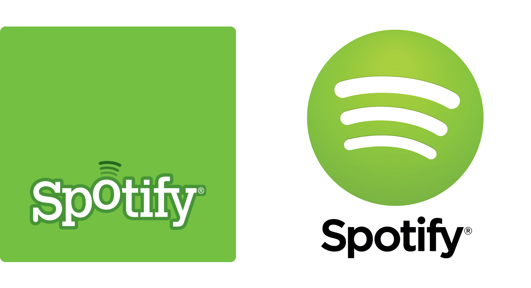 Spotify brand and website.