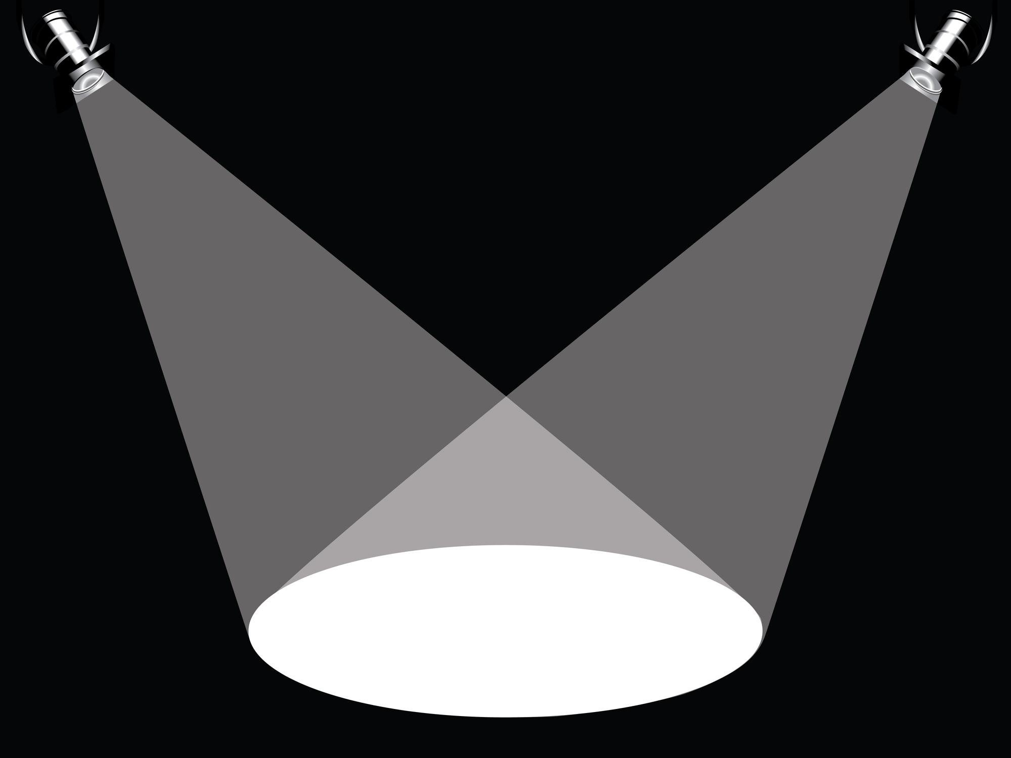 Spotlight Black And White Clipart Suggest, Floor Clip Art.