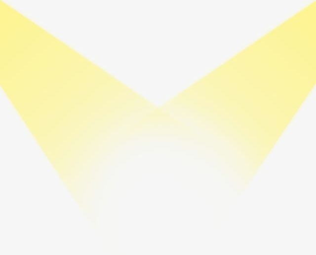 Yellow Spotlight PNG, Clipart, Flat, Light, Spotlight.