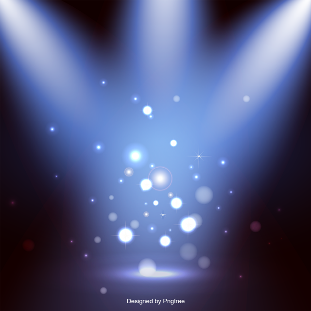 Stage Lighting Effects Vector, Stage, Lighting Effects.