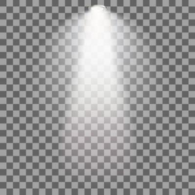 Spotlights Vectors PNG.