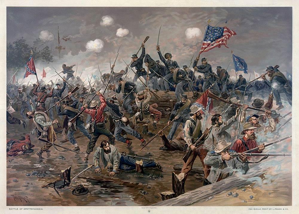 American Civil War Timeline.