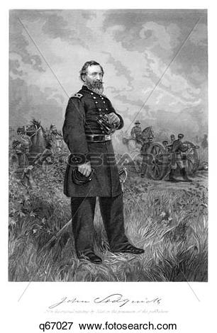 Picture of 1800S 1860S Standing Portrait Major General John.