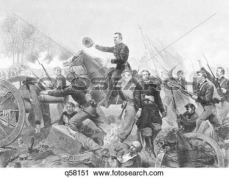 Stock Photography of 1860S May 1864 Lt. Gen. Ulysses S. Grant At.