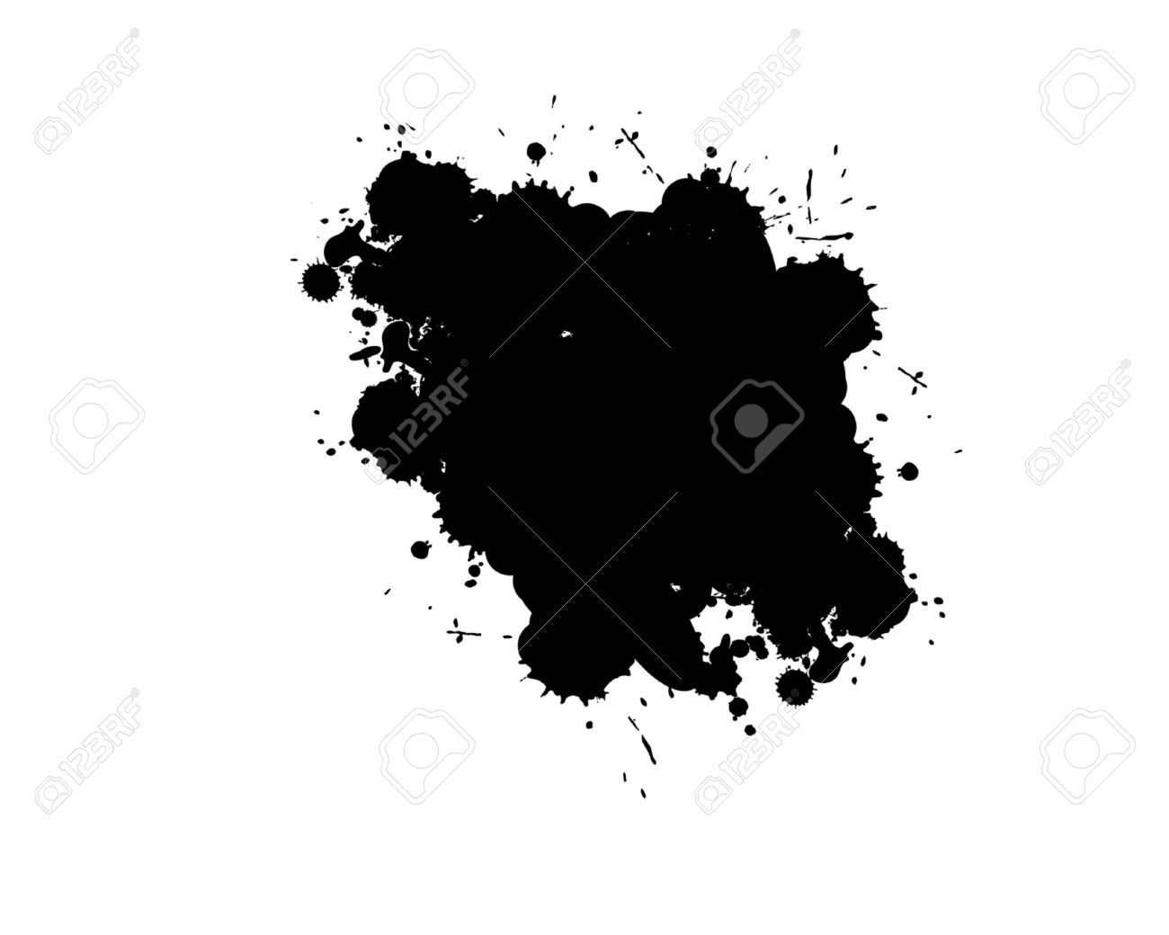 Spotted black clipart #17