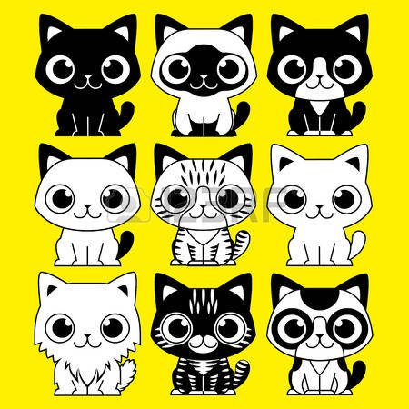 928 Spotted Cat Stock Vector Illustration And Royalty Free Spotted.