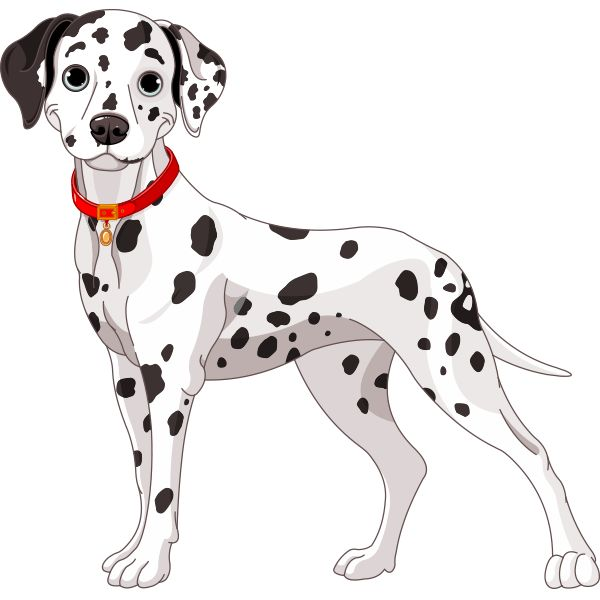 Spotted Dog Clipart.