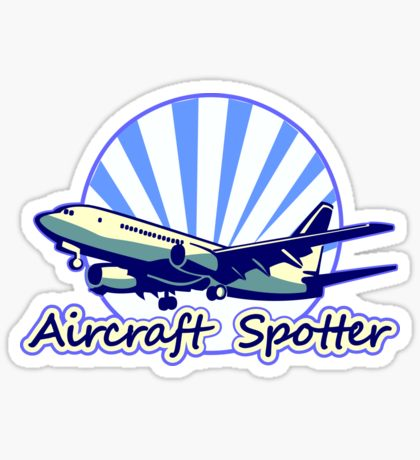 Plane Spotters: Stickers.