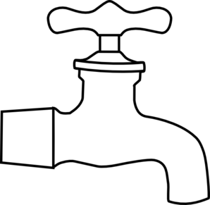 Water spout clip art.