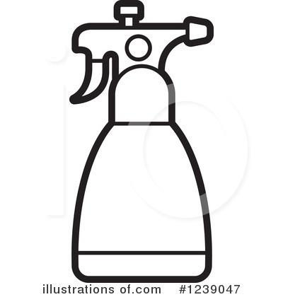 Spray Bottle Clip Art.