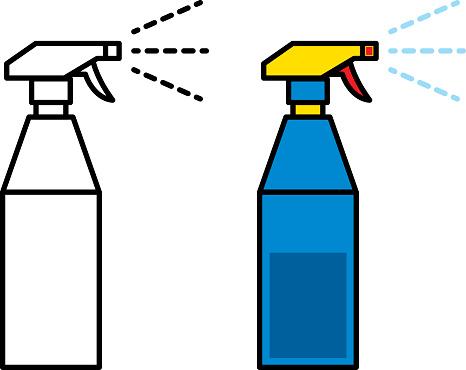 Spray Clipart.